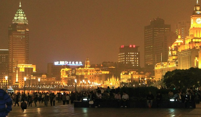 Shanghai Cruise Tour In The Evening