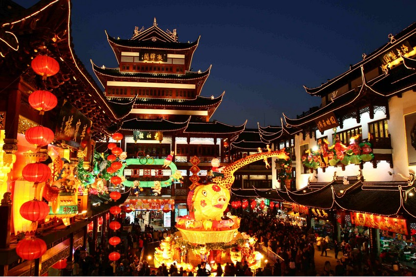8 Days Shanghai Side And Beijing Tour